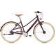 """Kalkhoff Scent Glare Urban Mixte Bicicletta da città Donna 28"""" rosso/viola"""